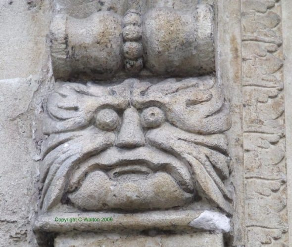 Green Man in Bradford on Avon