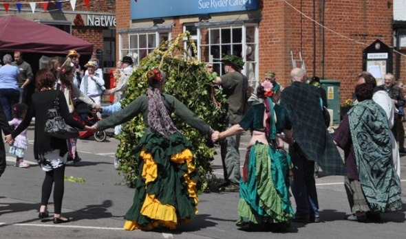 Highworth Jack-in-the-Green 2013  © Kay Brown