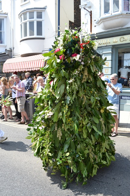 Whitstable Jack-in-the-Green 2013 © Pixyledpublications