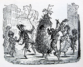Chimney Sweepers on May day by Sears (1826)