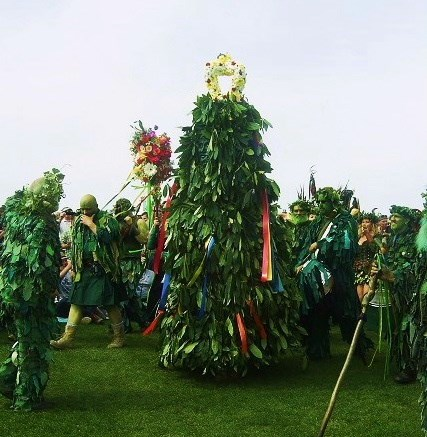Hastings Traditional Jack-in-the-Green copyright © Rose Blakeley