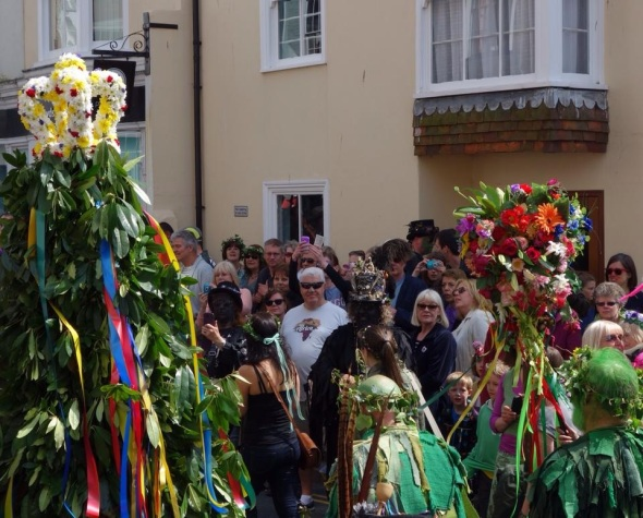 Hastings Traditional Jack-in-the-Green copyright © Ian McLauchlan.