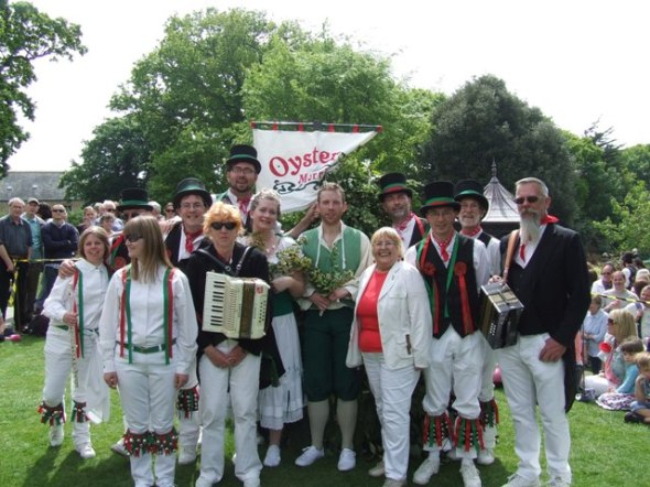 Whitstable (Oyster Morris) Jack-in-the-Green 2014