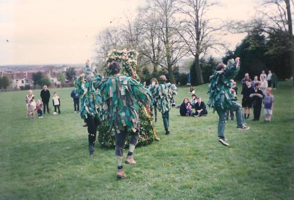 Bristol Jack-in-the-Green 1996 Copyright Pixyledpublications
