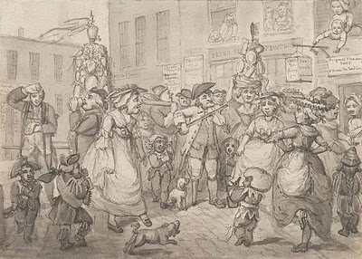 Samuel Collings May Day in London1784