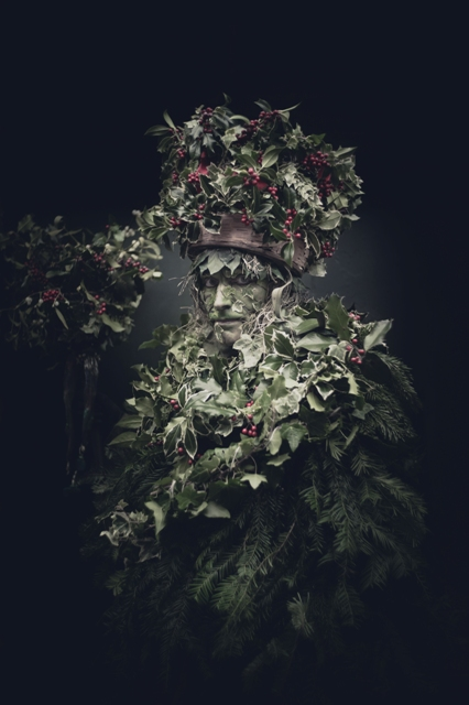 Holly Man copyright © Damian Frost